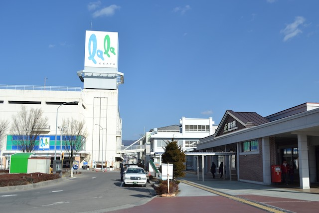 岡谷駅前の「ララオカヤ」