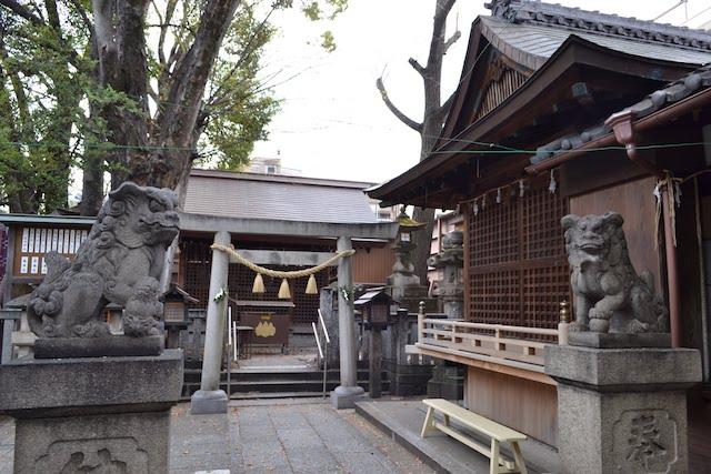 浅間神社の社殿