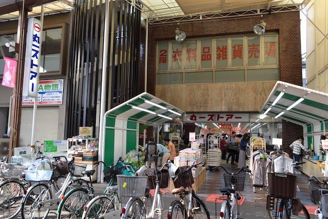 これぞ商店街のスーパーという昔ながらの佇まい「丸一ストアー円頓寺店」
