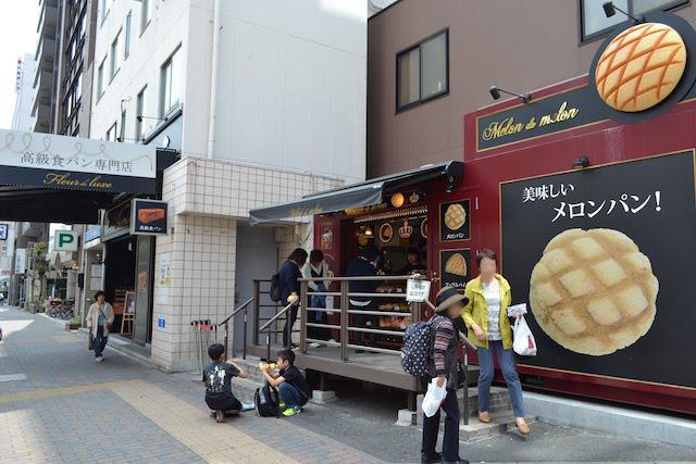 地下鉄上前津駅12番出入口すぐのメロンパン専門店「メロン・ドゥ・メロン上前津店」