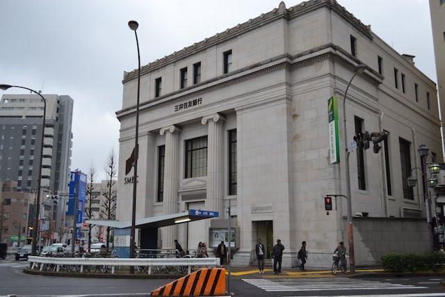 上前津駅9番出入口前の三井住友銀行上前津支店