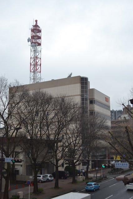 若宮大通沿いにあるテレビ愛知本社