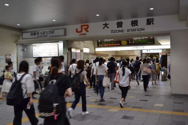 JR大曽根駅北口改札