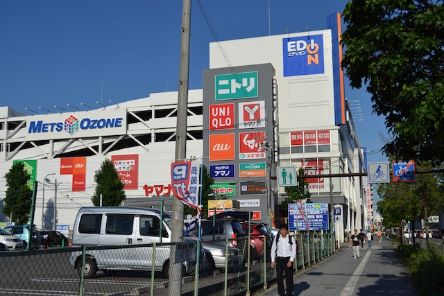 大曽根駅東側の複合施設「メッツ大曽根」