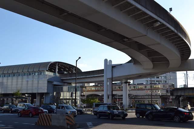 ガイドウェイバス「ゆとりーとライン」大曽根駅