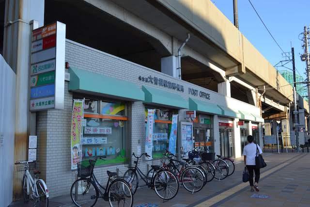 名鉄瀬戸線高架下の名古屋大曽根駅前郵便局と銀行ATMコーナーは存続