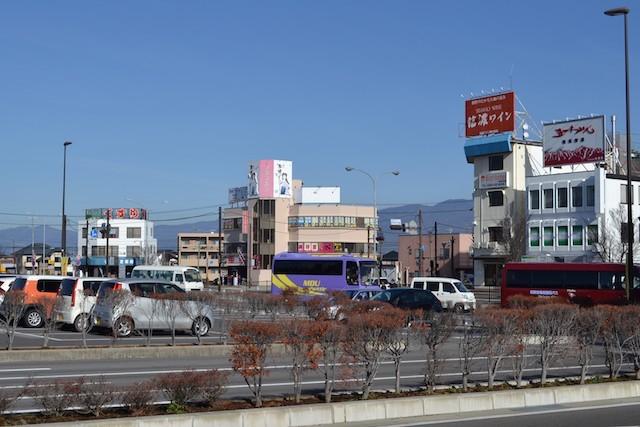 塩尻駅東口ロータリー