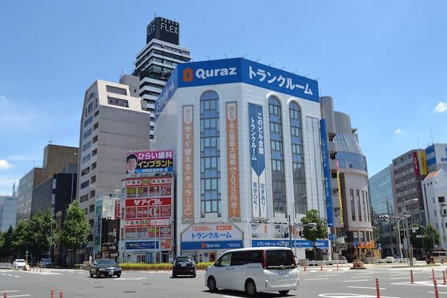 広小路葵交差点前のトランクルーム「キュラーズ新栄店」