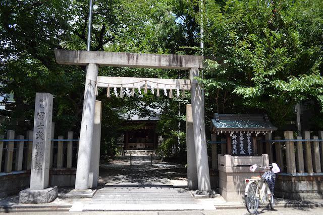 浅間町駅北東にある冨士浅間神社