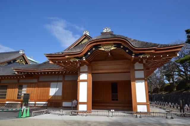 復元された名古屋城本丸御殿