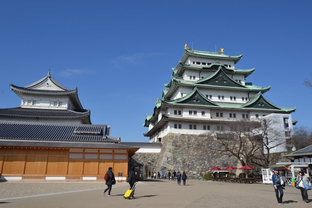 名古屋城本丸御殿と天守閣