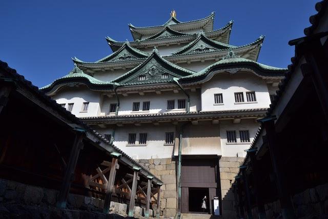 名古屋城天守閣入口