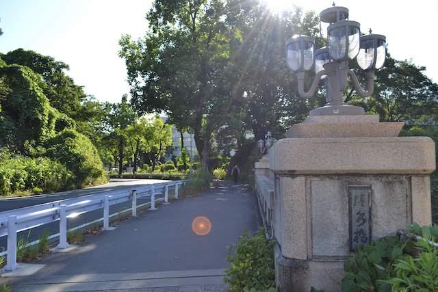 名古屋城外堀に架かる清水橋