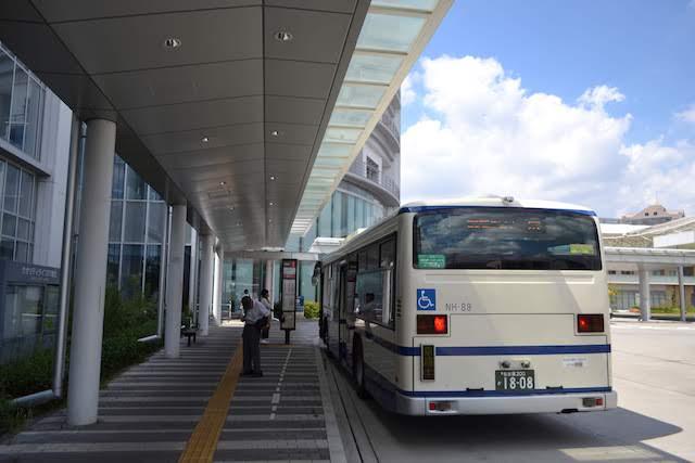 名古屋市立西部医療センターへは黒川バスターミナルからバス約5分