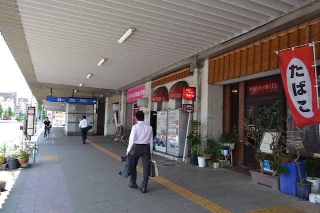 名古屋市営黒川住宅1階にある純喫茶「世界のコーヒー ツツミ」