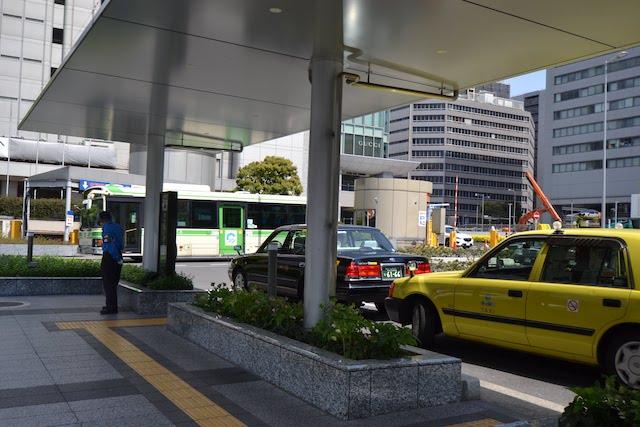 大阪駅桜橋口のタクシーのりば