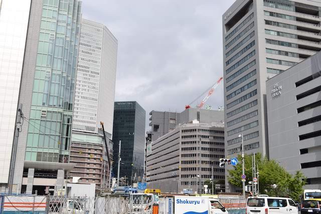 大阪駅南側一帯で2023年まで続く地下道工事