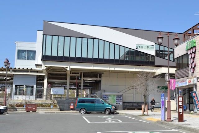 塩山駅南口駅舎