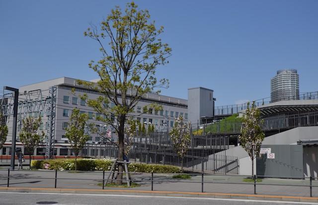 押上駅前の自転車駐車場