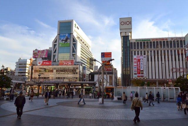 「丸井錦糸町店」と「WINS錦糸町」