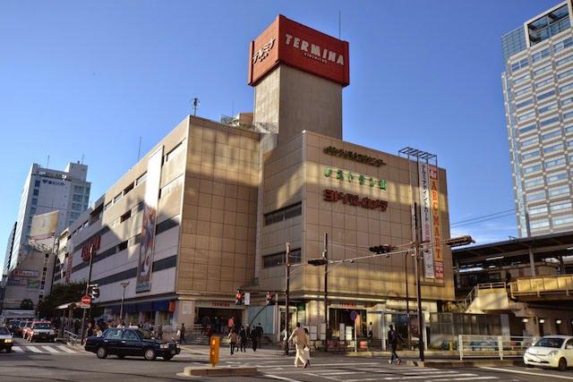 国鉄時代から錦糸町駅ビルとして歳月を重ねてきた「テルミナ」