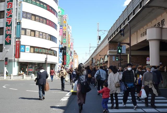 吉祥寺駅の新宿方高架下の「アトレ吉祥寺東館」