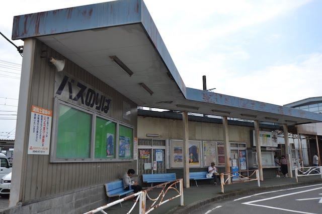 富士駅北口の富士急静岡バスのりば