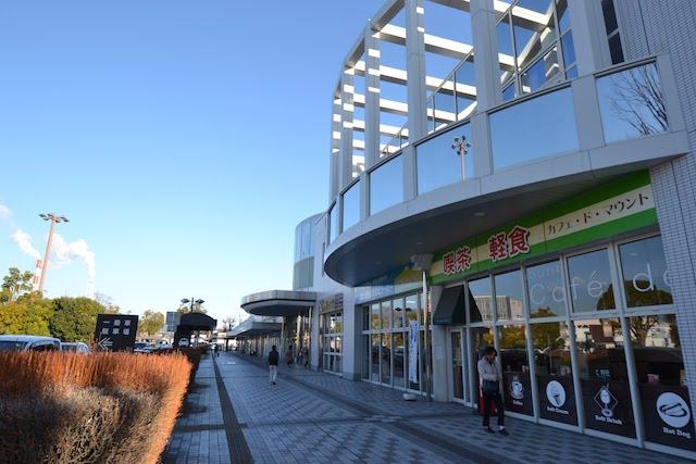 新富士駅富士山口の店舗スペース