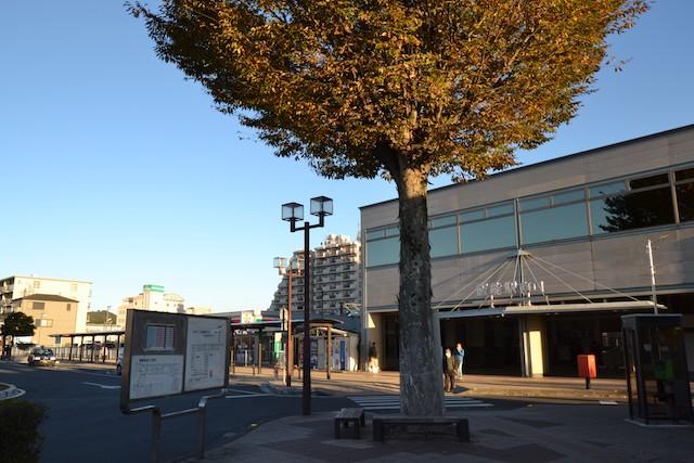 マイカー送迎に便利な飯能駅南口ロータリー