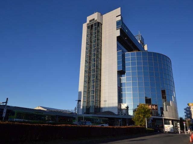 「西武飯能PePe」「ホテル・ヘリテイジ飯能」からなる飯能駅ビル