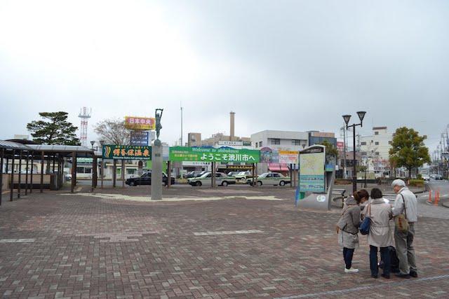 渋川駅の駅前広場