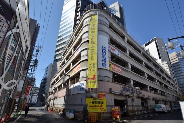 「鮮魚のデパート」を称する柳橋中央市場の「中央水産ビル」は2019年に閉館