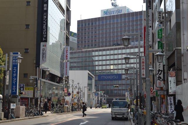 再開発で建て替えが予定されている「名鉄百貨店本店メンズ館」