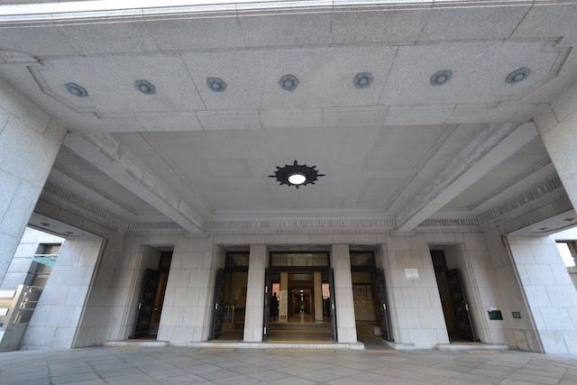 愛知県庁本庁舎エントランス