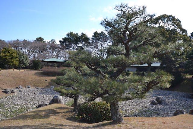 復元された二之丸東庭園