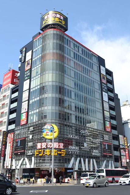 錦通大津北西角の「ドン・キホーテ名古屋栄店」