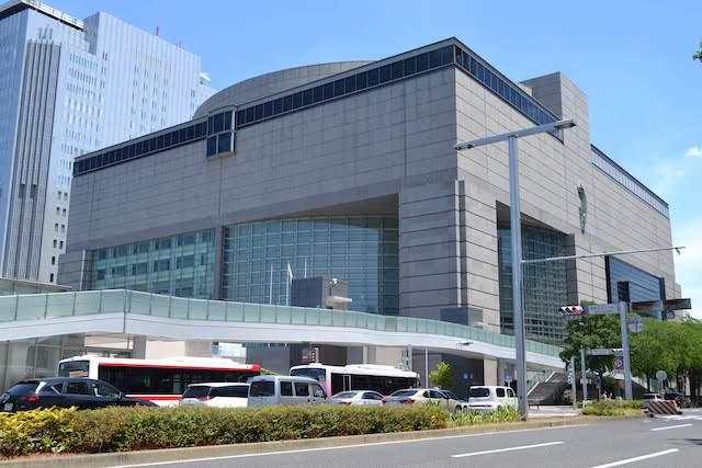 愛知県芸術劇場、愛知県美術館などが入る愛知芸術文化センター