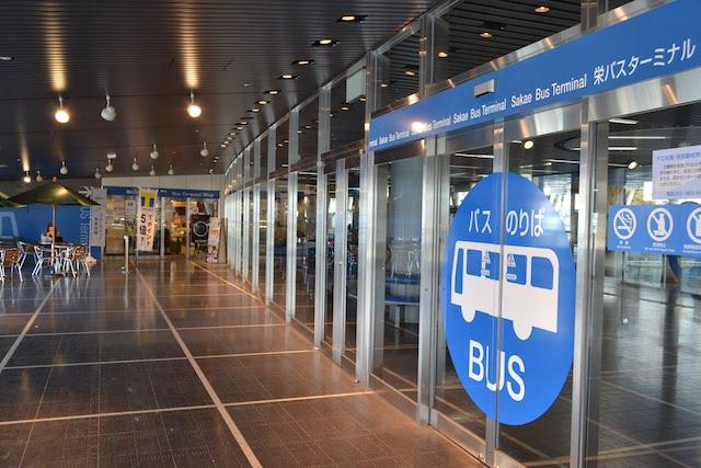 栄バスターミナル(オアシス21のりば)に併設されているカフェ