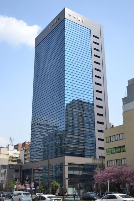 桜通沿いにある十六銀行名古屋ビル