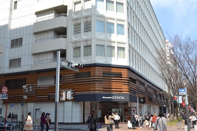 紳士服フロアに特化した松坂屋名古屋店北館「ジェンタ」