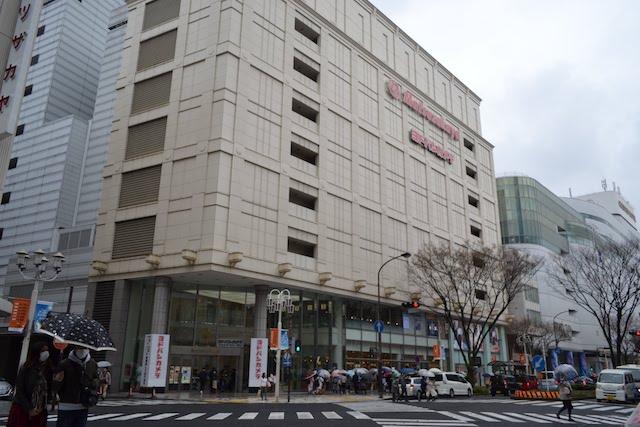 大津通側から見た松坂屋名古屋店南館