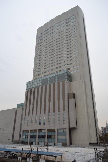 金山駅南口前の「ANAクラウンプラザホテルグランコート名古屋」