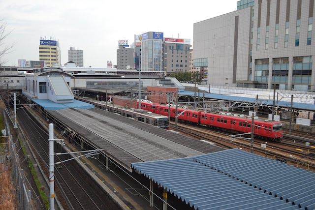 JR・名鉄・市営地下鉄の5路線が集結する金山駅